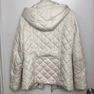 kate spade Jackets & Coats - Kate Spade packable quilted short coat w/ bow